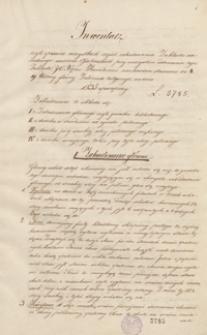 Opisanie gmachu Zakładu [Narodowego im. Ossolińskich we Lwowie] w r. 1835 sporządzone