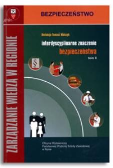 Interdyscyplinarne znaczenie bezpieczeństwa T. 2