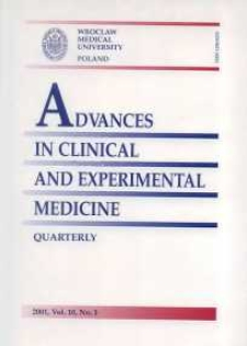 Advances in Clinical and Experimental Medicine, Vol. 10, 2001, nr 1