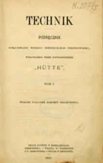 Technik : podręcznik. T. 1