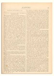 Nature : a Weekly Illustrated Journal of Science. Volume 7, 1872 December 12, [No. 163]