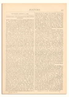 Nature : a Weekly Illustrated Journal of Science. Volume 7, 1873 March 20, [No. 177]