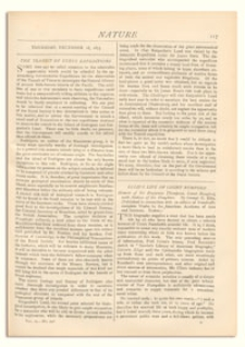 Nature : a Weekly Illustrated Journal of Science. Volume 9, 1873 December 18, [No. 216]