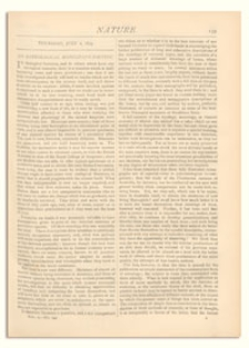 Nature : a Weekly Illustrated Journal of Science. Volume 10, 1874 July 2, [No. 244]