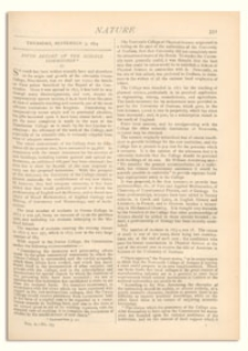 Nature : a Weekly Illustrated Journal of Science. Volume 10, 1874 September 3, [No. 253]