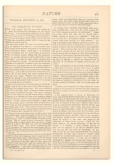 Nature : a Weekly Illustrated Journal of Science. Volume 10, 1874 September 24, [No. 256]