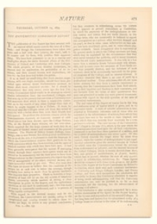 Nature : a Weekly Illustrated Journal of Science. Volume 10, 1874 October 15, [No. 259]