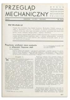 Przegląd Mechaniczny. Organ Stowarzyszenia Inżynierów Mechaników Polskich, T. 2, 25 lipca 1936, nr 13-14