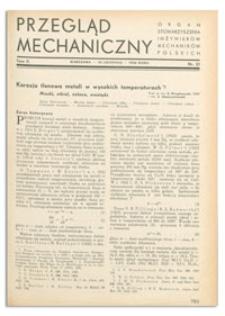 Przegląd Mechaniczny. Organ Stowarzyszenia Inżynierów Mechaników Polskich, T. 2, 10 listopada 1936, nr 21