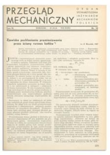 Przegląd Mechaniczny. Organ Stowarzyszenia Inżynierów Mechaników Polskich, T. 4, 25 maja 1938, nr 10