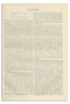 Nature : a Weekly Illustrated Journal of Science. Volume 14, 1876 May 11, [No. 341]