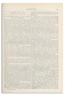 Nature : a Weekly Illustrated Journal of Science. Volume 14, 1876 June 8, [No. 345]