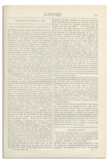 Nature : a Weekly Illustrated Journal of Science. Volume 14, 1876 October 12, [No. 363]