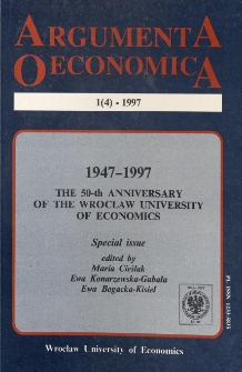 The achievements and shortcomings forecasting the development of economic processes