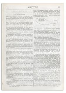 Nature : a Weekly Illustrated Journal of Science. Volume 18, 1878 May 16, [No. 446]