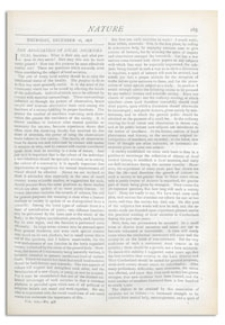 Nature : a Weekly Illustrated Journal of Science. Volume 19, 1878 December 26, [No. 478]