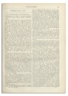 Nature : a Weekly Illustrated Journal of Science. Volume 24, 1881 May 12, [No. 602]