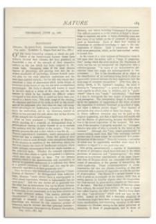 Nature : a Weekly Illustrated Journal of Science. Volume 24, 1881 June 30, [No. 609]