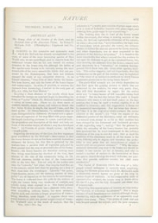 Nature : a Weekly Illustrated Journal of Science. Volume 25, 1882 March 2, [No. 644]