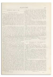 Nature : a Weekly Illustrated Journal of Science. Volume 25, 1882 April 27, [No. 652]