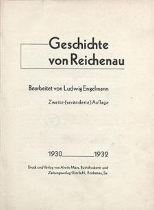 Geschichte von Reichenau