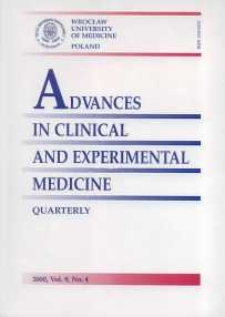 Advances in Clinical and Experimental Medicine, Vol. 9, 2000, nr 4