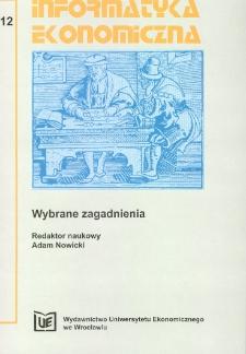 Identyfikacja procesów informacyjnych realizowanych w urzędach skarbowych w Polsce. Prace Naukowe Uniwersytetu Ekonomicznego we Wrocławiu, 2008, Nr 23, s. 21-31