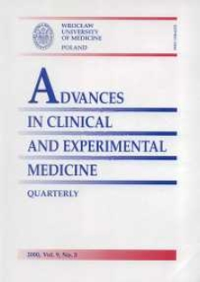 Advances in Clinical and Experimental Medicine, Vol. 9, 2000, nr 3