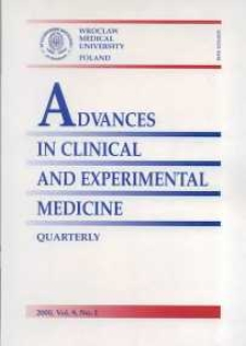 Advances in Clinical and Experimental Medicine, Vol. 9, 2000, nr 2