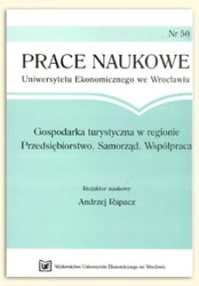 Wielkość i struktura rynku biur podróży działających w Trójmieście. Prace Naukowe Uniwersytetu Ekonomicznego we Wrocławiu, 2009, Nr 50, s. 174-186