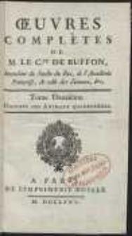 Oeuvres Complètes De [...] Buffon [...] : Histoire Des Animaux Quadrupèdes [T. 2]