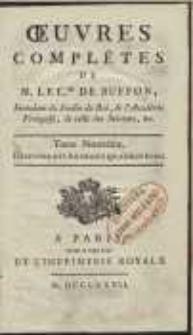 Oeuvres Complètes De [...] Buffon [...] : Histoire Des Animaux Quadrupèdes [T. 9]