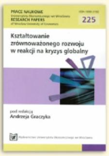 Znaczenie struktur klastrowych jako narzędzi wzmacniających konkurencyjność i innowacyjność gospodarki. Prace Naukowe Uniwersytetu Ekonomicznego we Wrocławiu = Research Papers of Wrocław University of Economics, 2011, Nr 225, s. 231-246