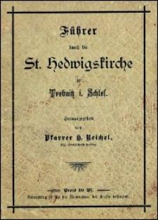 Führer durch die St. Hedwigskirche zu Trebnitz i. Schles.