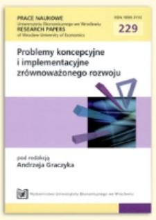Czynniki równoważenia programów rozwoju na poziomie regionów. Prace Naukowe Uniwersytetu Ekonomicznego we Wrocławiu = Research Papers of Wrocław University of Economics, 2011, Nr 229, s. 26-36