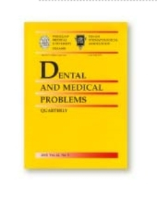Dental and Medical Problems, 2012, Vol. 49, nr 3