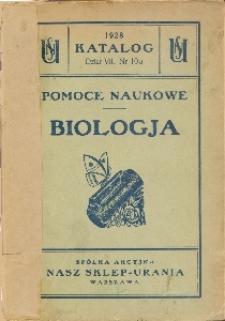 Biologja : pomoce naukowe