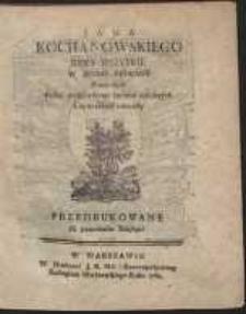 Jana Kochanowskiego Rymy Wszytkie [...]