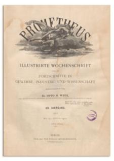 Prometheus : Illustrirte Wochenschrift über die Fortschritte in Gewerbe, Industrie und Wissenschaft. 14. Jahrgang, 1903, Nr 698