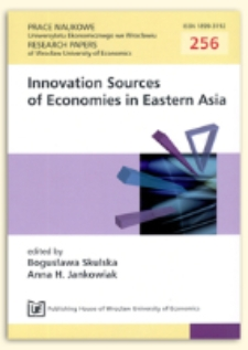 Learning by exporting as a source of innovation in Asian companies. Prace Naukowe Uniwersytetu Ekonomicznego we Wrocławiu = Research Papers of Wrocław University of Economics, 2012, Nr 256, s. 59-71
