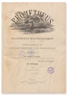 Prometheus : Illustrirte Wochenschrift über die Fortschritte in Gewerbe, Industrie und Wissenschaft. 15. Jahrgang, 1903, Nr 731