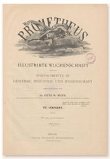 Prometheus : Illustrirte Wochenschrift über die Fortschritte in Gewerbe, Industrie und Wissenschaft. 16. Jahrgang, 1905, Nr 800