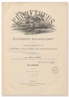 Prometheus : Illustrierte Wochenschrift über die Fortschritte in Gewerbe, Industrie und Wissenschaft. 21. Jahrgang, 1909, Nr 1055