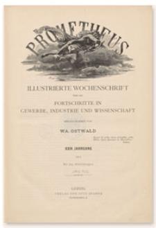 Prometheus : Illustrierte Wochenschrift über die Fortschritte in Gewerbe, Industrie und Wissenschaft. 24. Jahrgang, 1912, Nr 1208