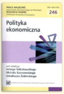 Zmiany we wzajemnych zależnościach w polityce rolnej między WTO i Unią Europejską. Prace Naukowe Uniwersytetu Ekonomicznego we Wrocławiu = Research Papers of Wrocław University of Economics, 2012, Nr 246, s. 371-380