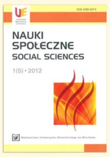 Polityka społeczna wobec ludzi starych w USA - uwarunkowania rozwoju i perspektywy zmian