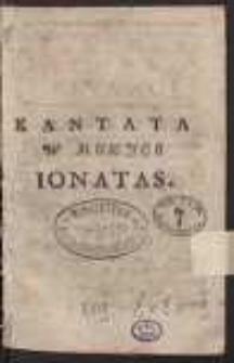 Kantata w muzyce : Ionatas