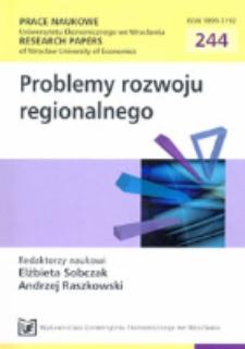 Wybrane metody oceny polityki rozwoju regionu. Prace Naukowe Uniwersytetu Ekonomicznego we Wrocławiu = Research Papers of Wrocław University of Economics, 2012, Nr 244, s. 374-393