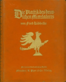 Die Plastik des deutschen Mittelalters. Bd. 2
