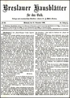 Breslauer Hausblätter für das Volk. Jg. 4, Nr. 93 (1866)